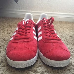 adidas Shoes - Red Adidas Gazelle